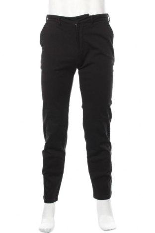 Pantaloni de bărbați Bruuns Bazaar, Mărime S, Culoare Negru, 98% bumbac, 2% elastan, Preț 70,07 Lei