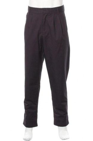 Мъжки панталон Kiomi, Размер L, Цвят Син, 100% памук, Цена 13,68лв.
