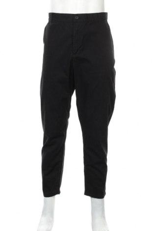 Мъжки панталон Weekday, Размер L, Цвят Черен, Памук, Цена 19,60лв.