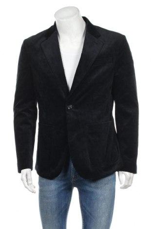 Ανδρικό σακάκι Filippa K, Μέγεθος L, Χρώμα Μπλέ, 99% βαμβάκι, 1% ελαστάνη, Τιμή 31,55€
