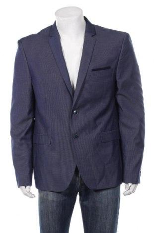 Ανδρικό σακάκι Georges Rech, Μέγεθος L, Χρώμα Μπλέ, 77% πολυεστέρας, 23% βισκόζη, Τιμή 18,01€