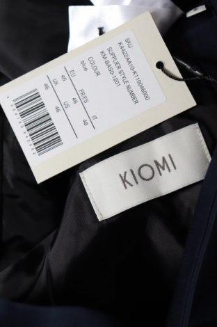 Мъжко сако Kiomi, Размер M, Цвят Син, 70% полиестер, 30% вискоза, Цена 72,00лв.