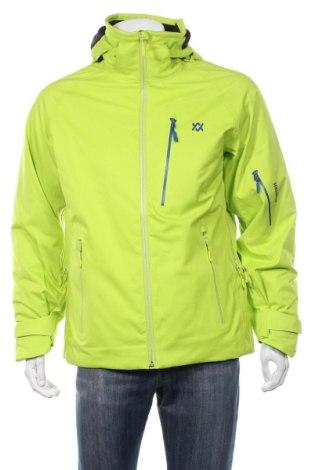 Мъжко яке за зимни спортове VOLKL, Размер M, Цвят Зелен, Полиестер, Цена 269,64лв.