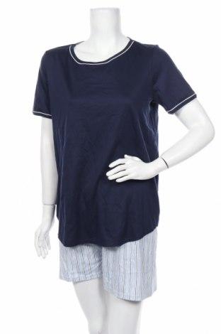 Пижама Calida, Размер S, Цвят Син, Памук, Цена 27,60лв.