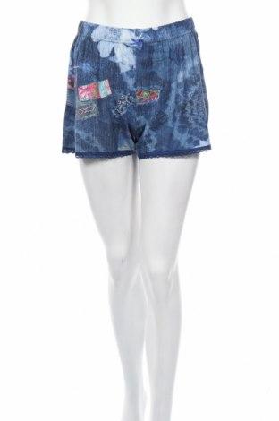 Пижама Desigual, Размер M, Цвят Син, 95% вискоза, 5% еластан, Цена 40,95лв.