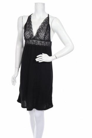 Пижама Lascana, Размер M, Цвят Черен, Вискоза, Цена 57,00лв.
