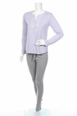 Пижама Women'secret, Размер S, Цвят Сив, 85% памук, 15% вискоза, Цена 40,50лв.