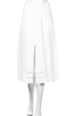 Φούστα Fashion Union, Μέγεθος XS, Χρώμα Λευκό, Βαμβάκι, Τιμή 9,40€