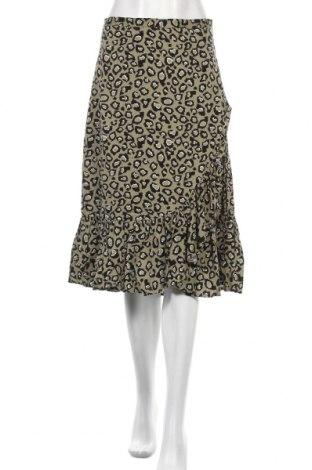 Φούστα Soya Concept, Μέγεθος M, Χρώμα Πράσινο, Βισκόζη, Τιμή 5,90€
