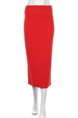Φούστα Wal G, Μέγεθος S, Χρώμα Κόκκινο, 92% πολυεστέρας, 8% ελαστάνη, Τιμή 7,71€