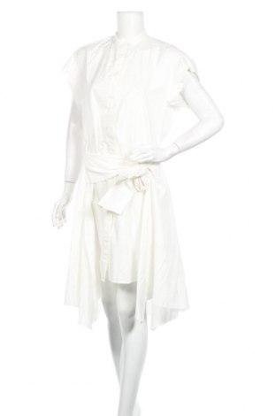 Φόρεμα AllSaints, Μέγεθος M, Χρώμα Λευκό, Βαμβάκι, Τιμή 46,08€