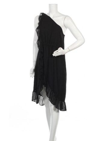 Рокля Bruuns Bazaar, Размер S, Цвят Черен, Полиестер, Цена 31,65лв.