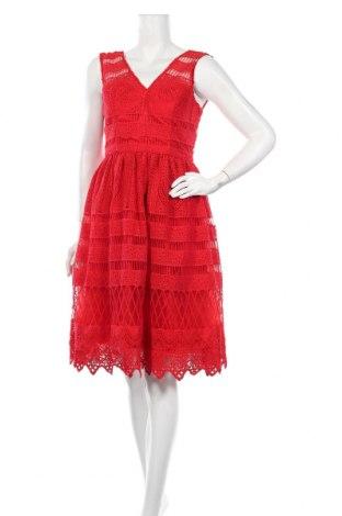 Φόρεμα Chi Chi, Μέγεθος L, Χρώμα Κόκκινο, Πολυεστέρας, Τιμή 30,72€