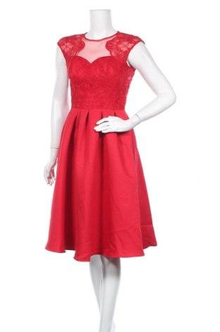 Φόρεμα Chi Chi, Μέγεθος S, Χρώμα Κόκκινο, Πολυαμίδη, Τιμή 30,72€