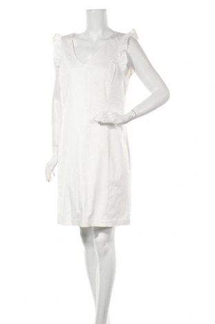 Рокля Cortefiel, Размер XL, Цвят Бял, 97% памук, 3% еластан, Цена 23,68лв.