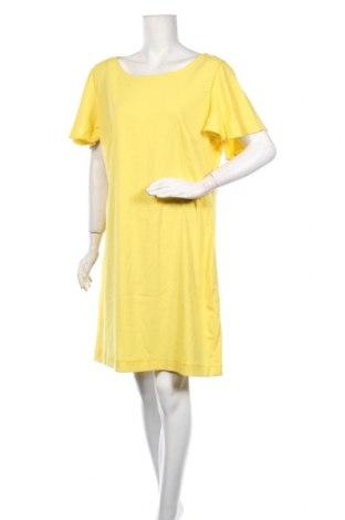 Φόρεμα Expresso, Μέγεθος XL, Χρώμα Κίτρινο, 69% πολυεστέρας, 29% βισκόζη, 2% ελαστάνη, Τιμή 39,89€