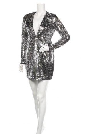 Φόρεμα Glamorous, Μέγεθος L, Χρώμα Ασημί, Πολυεστέρας, Τιμή 18,85€