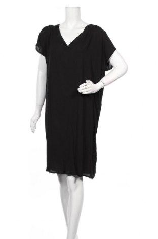 Φόρεμα Ichi, Μέγεθος XL, Χρώμα Μαύρο, Βισκόζη, Τιμή 10,55€