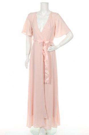 Рокля Tfnc London, Размер M, Цвят Розов, 97% полиестер, 3% еластан, Цена 28,06лв.
