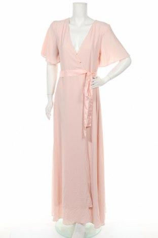 Рокля Tfnc London, Размер L, Цвят Розов, 97% полиестер, 3% еластан, Цена 45,15лв.
