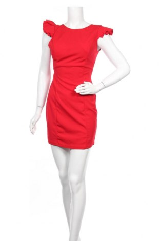 Рокля Wal G, Размер M, Цвят Червен, 95% полиестер, 5% еластан, Цена 51,75лв.
