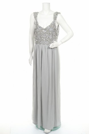 Рокля Young Couture, Размер XL, Цвят Сив, Полиестер, Цена 28,92лв.