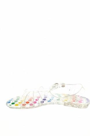 Детски сандали, Размер 35, Цвят Бял, Полиуретан, Цена 13,65лв.