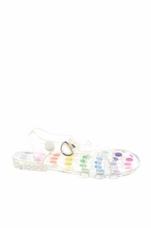 Детски сандали, Размер 25, Цвят Бял, Полиуретан, Цена 9,75лв.
