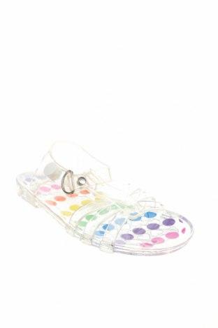 Детски сандали, Размер 23, Цвят Бял, Полиуретан, Цена 13,65лв.