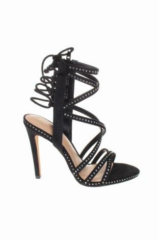Σανδάλια Aldo, Μέγεθος 36, Χρώμα Μαύρο, Κλωστοϋφαντουργικά προϊόντα, Τιμή 26,47€