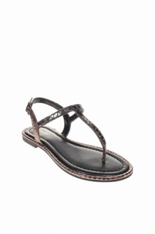 Σανδάλια Aldo, Μέγεθος 35, Χρώμα Μαύρο, Δερματίνη, Τιμή 19,16€