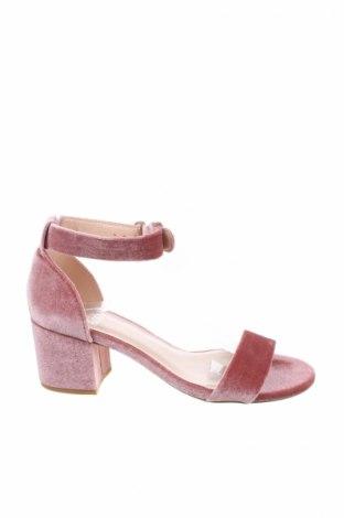 Σανδάλια Even&Odd, Μέγεθος 37, Χρώμα Ρόζ , Κλωστοϋφαντουργικά προϊόντα, Τιμή 19,77€