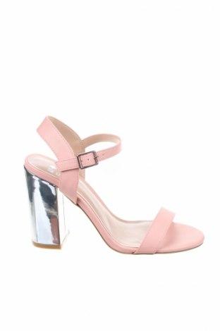 Σανδάλια Even&Odd, Μέγεθος 39, Χρώμα Ρόζ , Δερματίνη, Τιμή 19,77€