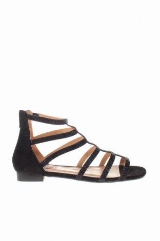 Σανδάλια Gai Mattiolo, Μέγεθος 40, Χρώμα Μαύρο, Κλωστοϋφαντουργικά προϊόντα, Τιμή 32,16€