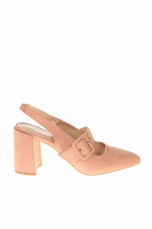 Σανδάλια Glamorous, Μέγεθος 41, Χρώμα Ρόζ , Κλωστοϋφαντουργικά προϊόντα, Τιμή 23,12€