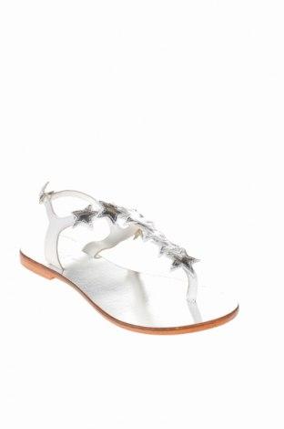 Σανδάλια Jonak, Μέγεθος 36, Χρώμα Λευκό, Γνήσιο δέρμα, Τιμή 23,51€