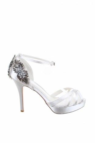 Σανδάλια Menbur, Μέγεθος 40, Χρώμα Λευκό, Κλωστοϋφαντουργικά προϊόντα, Τιμή 34,64€