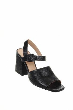 Σανδάλια Minelli, Μέγεθος 41, Χρώμα Μαύρο, Γνήσιο δέρμα, Τιμή 35,58€