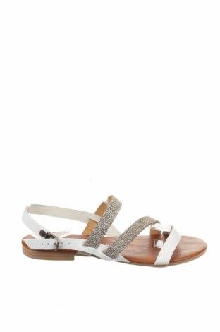 Σανδάλια Miss Butterfly, Μέγεθος 37, Χρώμα Λευκό, Δερματίνη, Τιμή 16,42€