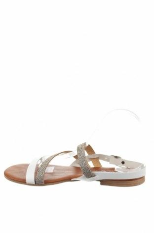 Σανδάλια Miss Butterfly, Μέγεθος 40, Χρώμα Λευκό, Δερματίνη, Τιμή 16,42€