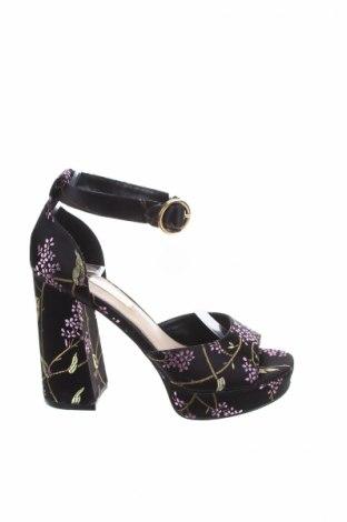 Σανδάλια Miss Selfridge, Μέγεθος 36, Χρώμα Μαύρο, Κλωστοϋφαντουργικά προϊόντα, Τιμή 23,12€
