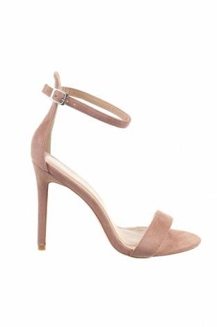 Σανδάλια Public Desire, Μέγεθος 38, Χρώμα Ρόζ , Κλωστοϋφαντουργικά προϊόντα, Τιμή 20,63€