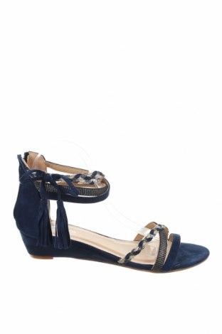 Σανδάλια Sixth Sens, Μέγεθος 40, Χρώμα Μπλέ, Κλωστοϋφαντουργικά προϊόντα, Τιμή 16,88€