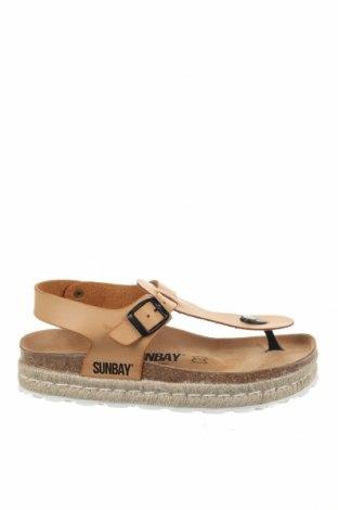 Сандали Sunbay, Размер 41, Цвят Бежов, Еко кожа, Цена 37,00лв.