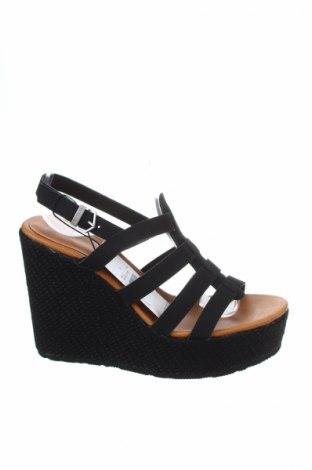 Σανδάλια Volcom, Μέγεθος 36, Χρώμα Μαύρο, Κλωστοϋφαντουργικά προϊόντα, Τιμή 33,74€