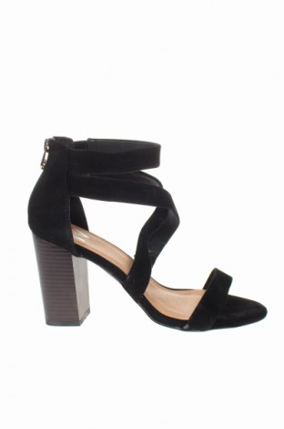 Σανδάλια Wallis, Μέγεθος 39, Χρώμα Μαύρο, Κλωστοϋφαντουργικά προϊόντα, Τιμή 15,30€