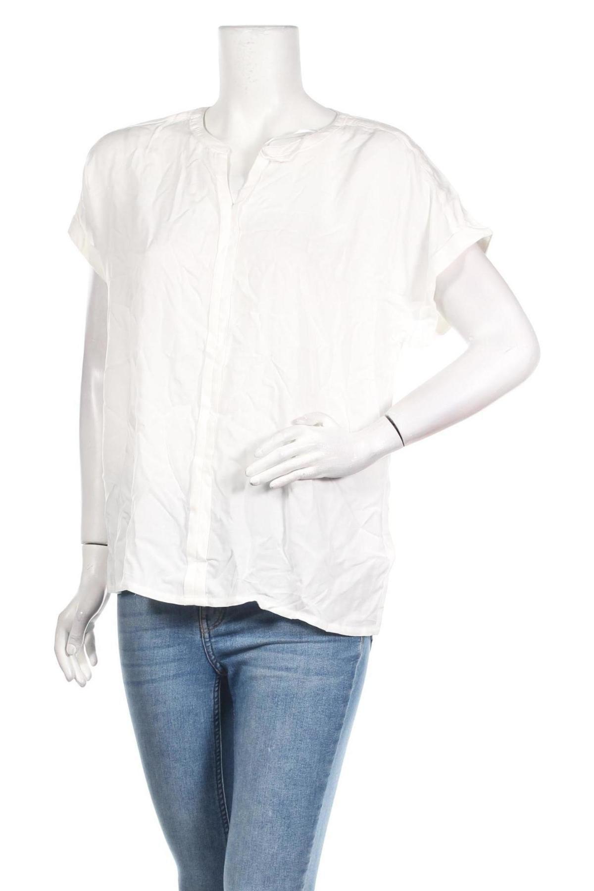 Γυναικεία μπλούζα Soya Concept, Μέγεθος M, Χρώμα Λευκό, Βισκόζη, Τιμή 10,83€