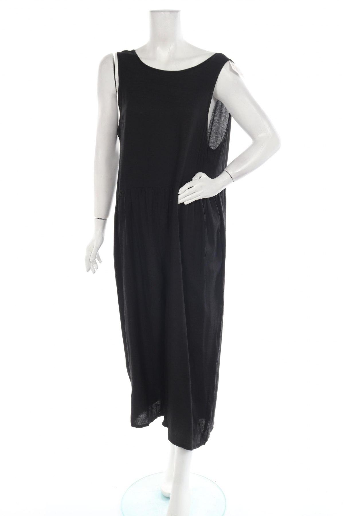 Дамски гащеризон Pretty Summer, Размер XL, Цвят Черен, 65% полиестер, 35% памук, Цена 44,25лв.