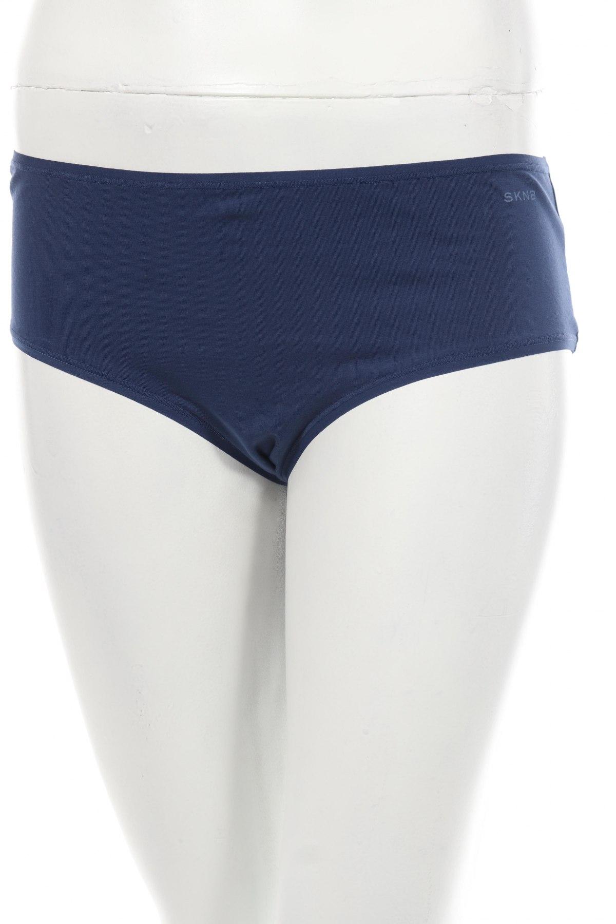 Дамски комплект SKNB, Размер XL, Цвят Син, 95% памук, 5% еластан, Цена 23,31лв.