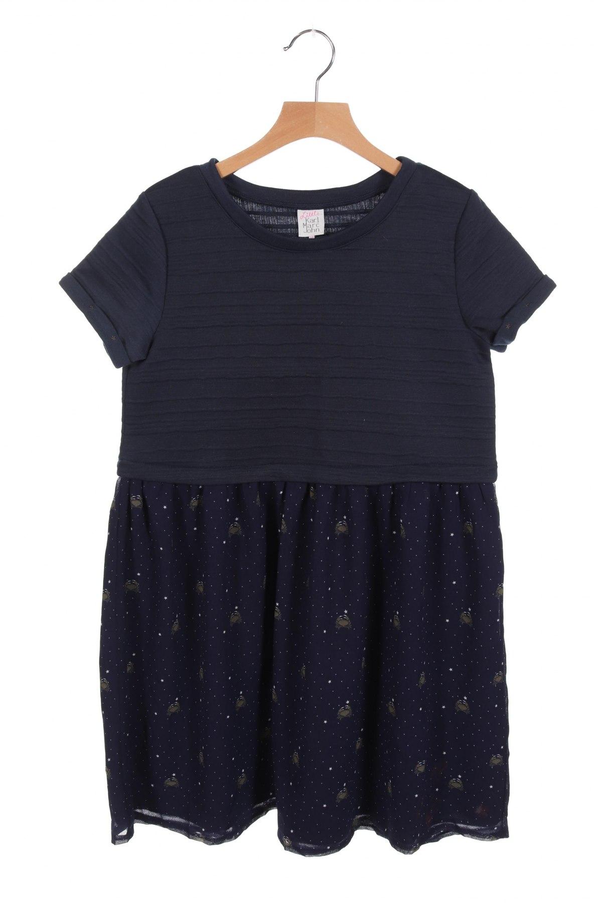 Παιδικό φόρεμα Karl Marc John, Μέγεθος 11-12y/ 152-158 εκ., Χρώμα Μπλέ, Πολυεστέρας, Τιμή 17,79€